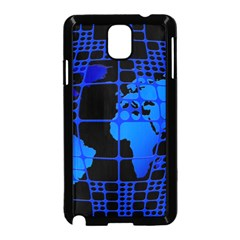 Network Networking Europe Asia Samsung Galaxy Note 3 Neo Hardshell Case (black)