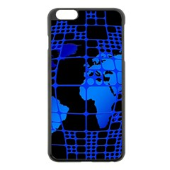 Network Networking Europe Asia Apple Iphone 6 Plus/6s Plus Black Enamel Case
