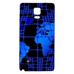 Network Networking Europe Asia Galaxy Note 4 Back Case
