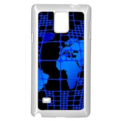 Network Networking Europe Asia Samsung Galaxy Note 4 Case (white)
