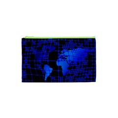 Network Networking Europe Asia Cosmetic Bag (xs)