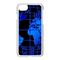Network Networking Europe Asia Apple Iphone 7 Seamless Case (white)