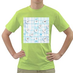 Icon Media Social Network Green T-Shirt