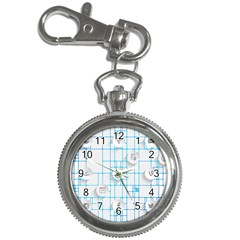 Icon Media Social Network Key Chain Watches