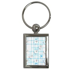 Icon Media Social Network Key Chains (rectangle)