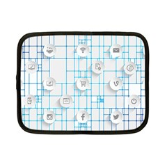 Icon Media Social Network Netbook Case (Small)