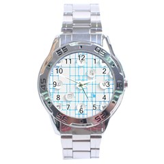 Icon Media Social Network Stainless Steel Analogue Watch