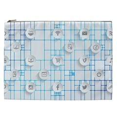 Icon Media Social Network Cosmetic Bag (xxl)