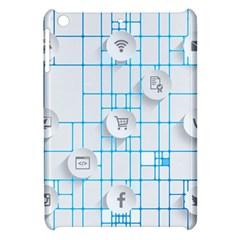 Icon Media Social Network Apple Ipad Mini Hardshell Case