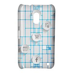 Icon Media Social Network Nokia Lumia 620