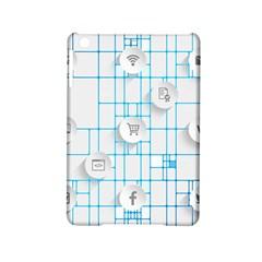 Icon Media Social Network Ipad Mini 2 Hardshell Cases
