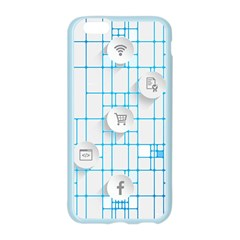 Icon Media Social Network Apple Seamless iPhone 6/6S Case (Color)