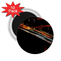 Highway Night Lighthouse Car Fast 2 25  Magnets (10 Pack)