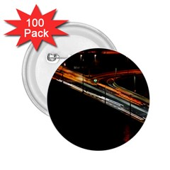 Highway Night Lighthouse Car Fast 2 25  Buttons (100 Pack)