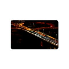 Highway Night Lighthouse Car Fast Magnet (name Card)