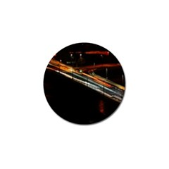 Highway Night Lighthouse Car Fast Golf Ball Marker