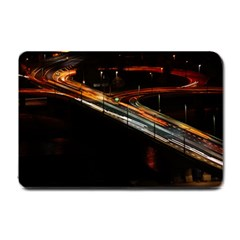 Highway Night Lighthouse Car Fast Small Doormat