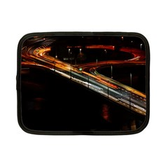 Highway Night Lighthouse Car Fast Netbook Case (small)