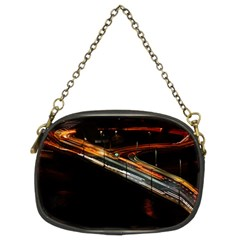 Highway Night Lighthouse Car Fast Chain Purses (two Sides)