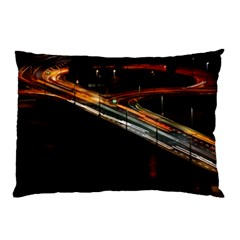 Highway Night Lighthouse Car Fast Pillow Case