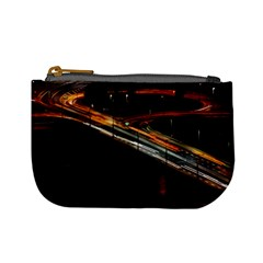 Highway Night Lighthouse Car Fast Mini Coin Purses