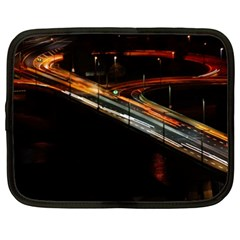 Highway Night Lighthouse Car Fast Netbook Case (xxl)