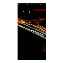 Highway Night Lighthouse Car Fast Shower Curtain 36  x 72  (Stall)