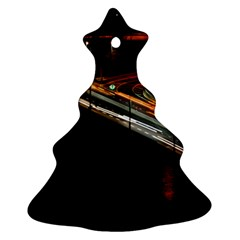 Highway Night Lighthouse Car Fast Ornament (Christmas Tree)