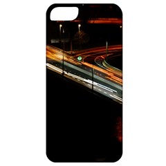 Highway Night Lighthouse Car Fast Apple iPhone 5 Classic Hardshell Case