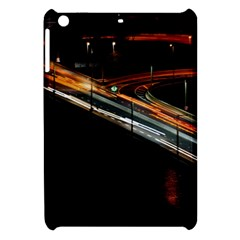 Highway Night Lighthouse Car Fast Apple Ipad Mini Hardshell Case