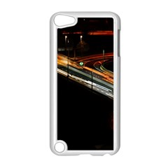 Highway Night Lighthouse Car Fast Apple iPod Touch 5 Case (White)
