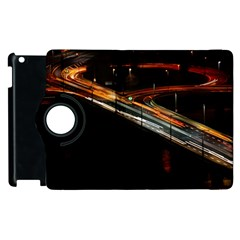 Highway Night Lighthouse Car Fast Apple Ipad 3/4 Flip 360 Case