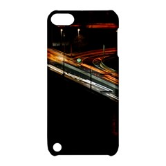 Highway Night Lighthouse Car Fast Apple Ipod Touch 5 Hardshell Case With Stand