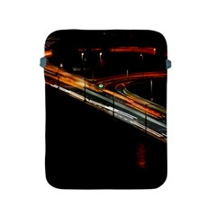Highway Night Lighthouse Car Fast Apple Ipad 2/3/4 Protective Soft Cases
