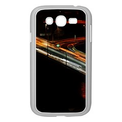 Highway Night Lighthouse Car Fast Samsung Galaxy Grand Duos I9082 Case (white)