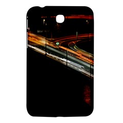Highway Night Lighthouse Car Fast Samsung Galaxy Tab 3 (7 ) P3200 Hardshell Case