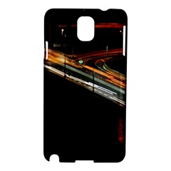 Highway Night Lighthouse Car Fast Samsung Galaxy Note 3 N9005 Hardshell Case