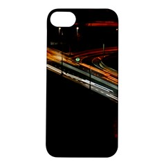Highway Night Lighthouse Car Fast Apple iPhone 5S/ SE Hardshell Case