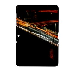 Highway Night Lighthouse Car Fast Samsung Galaxy Tab 2 (10.1 ) P5100 Hardshell Case