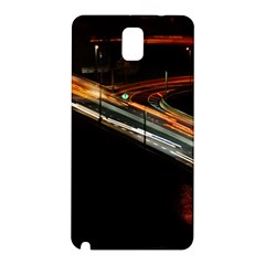 Highway Night Lighthouse Car Fast Samsung Galaxy Note 3 N9005 Hardshell Back Case