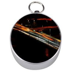Highway Night Lighthouse Car Fast Silver Compasses