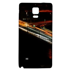 Highway Night Lighthouse Car Fast Galaxy Note 4 Back Case