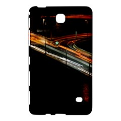 Highway Night Lighthouse Car Fast Samsung Galaxy Tab 4 (7 ) Hardshell Case