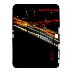 Highway Night Lighthouse Car Fast Samsung Galaxy Tab 4 (10 1 ) Hardshell Case