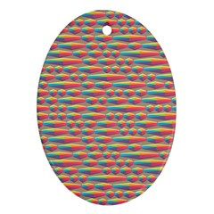 Background Abstract Colorful Ornament (oval)