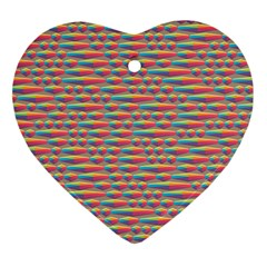 Background Abstract Colorful Ornament (heart)