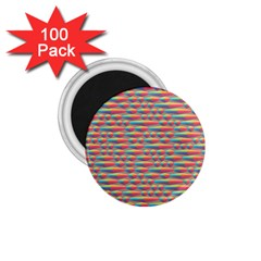 Background Abstract Colorful 1.75  Magnets (100 pack)