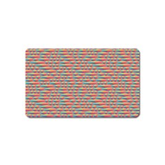 Background Abstract Colorful Magnet (Name Card)