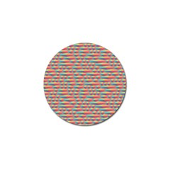 Background Abstract Colorful Golf Ball Marker (10 Pack)