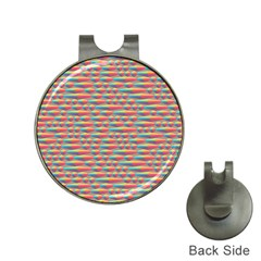 Background Abstract Colorful Hat Clips With Golf Markers